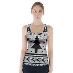 Ugly Christmas Sweater Racer Back Sports Top
