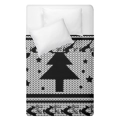 Ugly Christmas Sweater Duvet Cover Double Side (single Size)