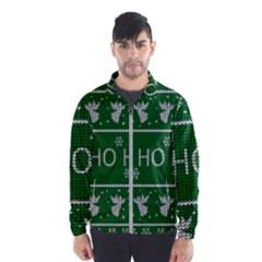 Ugly Christmas Sweater Wind Breaker (men)