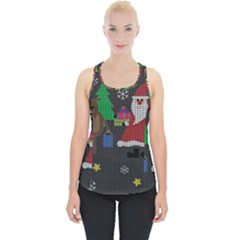 Ugly Christmas Sweater Piece Up Tank Top