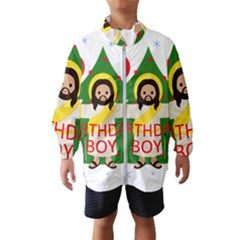 Jesus   Christmas Wind Breaker (kids)