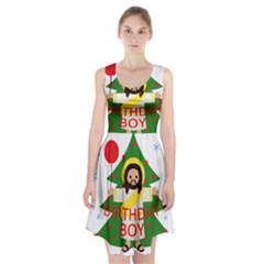 Jesus   Christmas Racerback Midi Dress