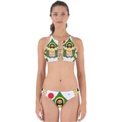 Jesus   Christmas Perfectly Cut Out Bikini Set