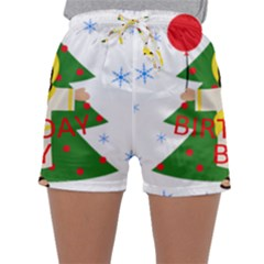 Jesus   Christmas Sleepwear Shorts