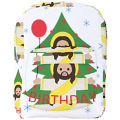 Jesus   Christmas Full Print Backpack
