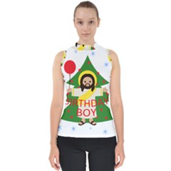 Jesus   Christmas Shell Top