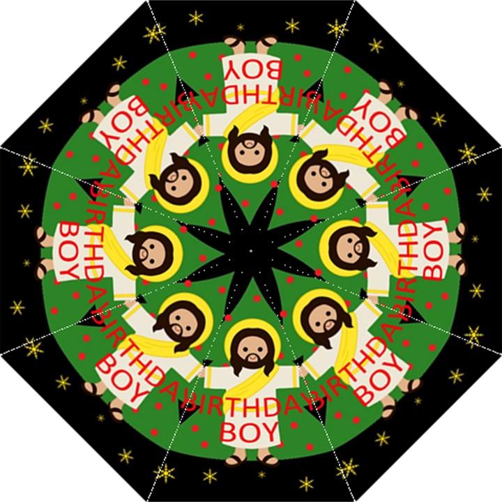 Jesus - Christmas Straight Umbrellas