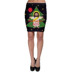 Jesus   Christmas Bodycon Skirt