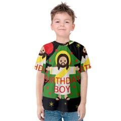 Jesus   Christmas Kids  Cotton Tee