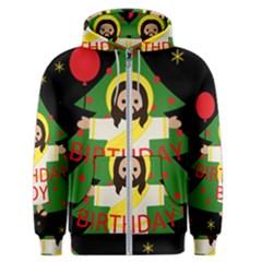 Jesus   Christmas Men s Zipper Hoodie