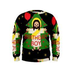 Jesus   Christmas Kids  Sweatshirt