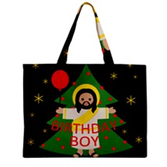 Jesus   Christmas Zipper Mini Tote Bag