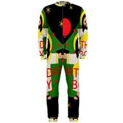 Jesus   Christmas Onepiece Jumpsuit (men)