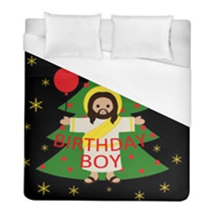 Jesus   Christmas Duvet Cover (full/ Double Size)