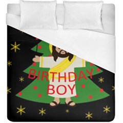 Jesus   Christmas Duvet Cover (king Size)