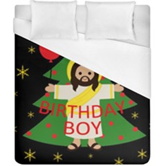 Jesus   Christmas Duvet Cover (california King Size)