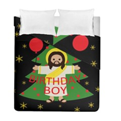 Jesus   Christmas Duvet Cover Double Side (full/ Double Size)