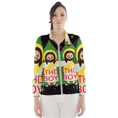 Jesus   Christmas Wind Breaker (women)