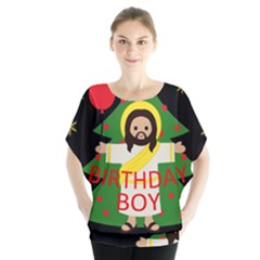 Jesus   Christmas Blouse