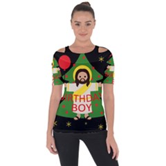 Jesus   Christmas Short Sleeve Top
