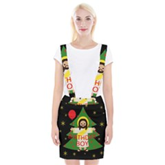 Jesus   Christmas Braces Suspender Skirt
