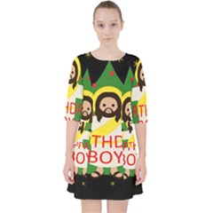 Jesus   Christmas Pocket Dress