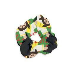 Jesus   Christmas Velvet Scrunchie