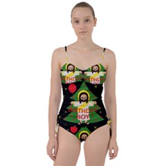 Jesus   Christmas Sweetheart Tankini Set