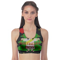 Jesus   Christmas Sports Bra