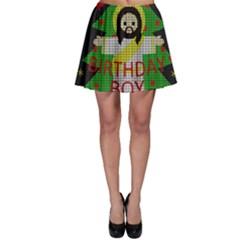 Jesus   Christmas Skater Skirt