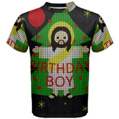 Jesus   Christmas Men s Cotton Tee