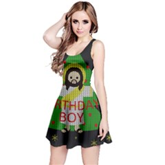 Jesus   Christmas Reversible Sleeveless Dress