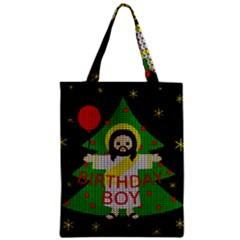 Jesus   Christmas Zipper Classic Tote Bag