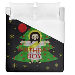 Jesus   Christmas Duvet Cover (queen Size)