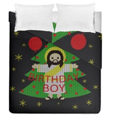 Jesus   Christmas Duvet Cover Double Side (queen Size)