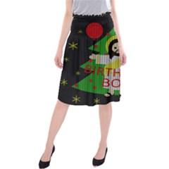 Jesus   Christmas Midi Beach Skirt