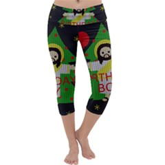 Jesus   Christmas Capri Yoga Leggings