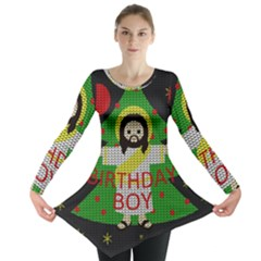 Jesus   Christmas Long Sleeve Tunic