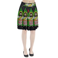 Jesus   Christmas Pleated Skirt
