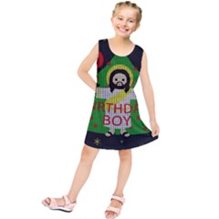 Jesus   Christmas Kids  Tunic Dress
