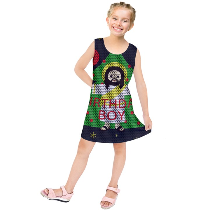 Jesus - Christmas Kids  Tunic Dress