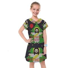Jesus   Christmas Kids  Drop Waist Dress