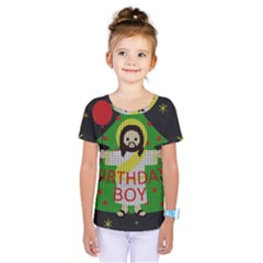 Jesus   Christmas Kids  One Piece Tee