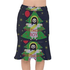 Jesus   Christmas Mermaid Skirt