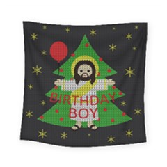 Jesus   Christmas Square Tapestry (small)