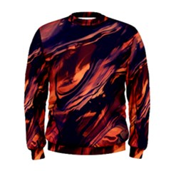 Abstract Acryl Art Men s Sweatshirt