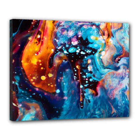Abstract Acryl Art Canvas 20  X 16