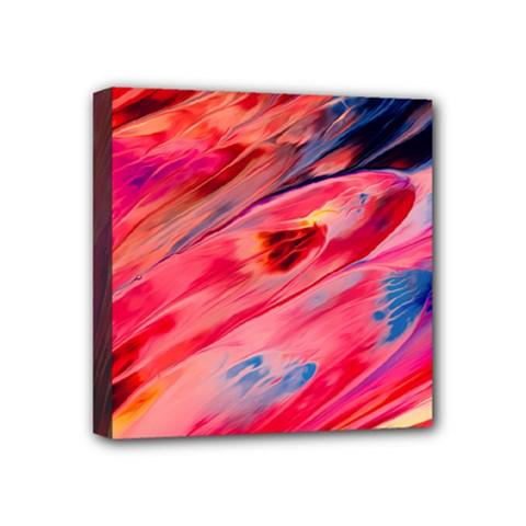 Abstract Acryl Art Mini Canvas 4  X 4