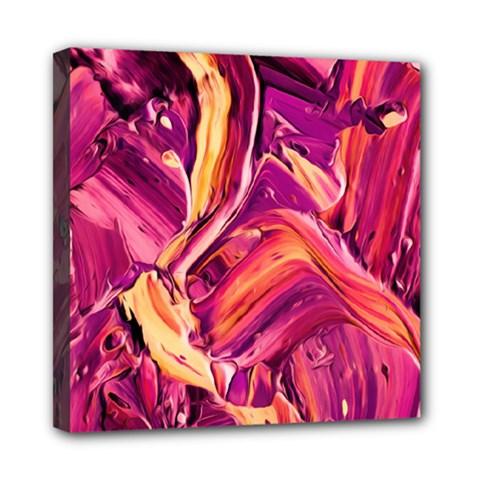 Abstract Acryl Art Mini Canvas 8  X 8