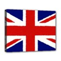 Union Jack watercolor drawing art Deluxe Canvas 20  x 16   View1